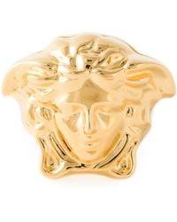 Versace Gold Medusa Ring - Lyst