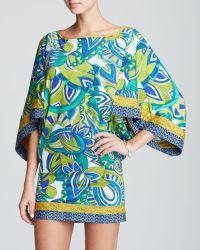 Trina Turk Amazonia Covers Tunic Swim Cover Up - Lyst