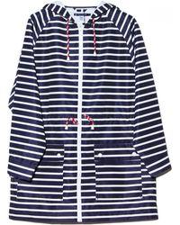 Petit Bateau - Lewis Stripe Rain Jacket - Lyst