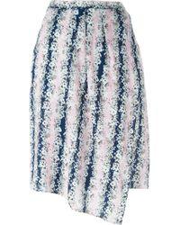 Carven - Printed Skirt - Lyst
