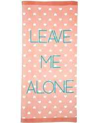 Forever 21 - Leave Me Alone Beach Towel - Lyst