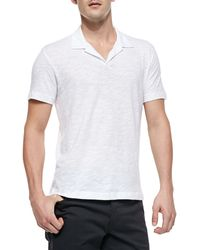 Theory Willem Cohesive Shortsleeve Polo - Lyst