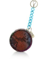 House of Holland - Burger Charm Purse Multi Snake - Lyst