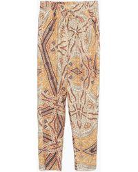 Zara Pajama Trousers - Lyst