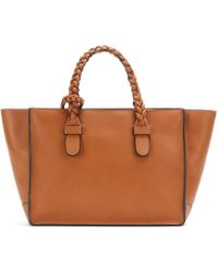 Valentino To Be Cool Leather Tote - Lyst
