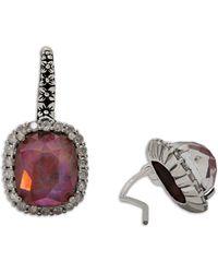 Stephen Dweck - Verona Garnet Triplet & Icy Diamond Earrings - Lyst