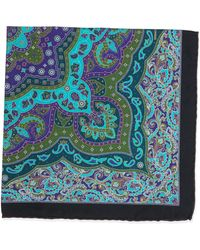 Stefano Ricci - Paisley-print Handkerchief - Lyst