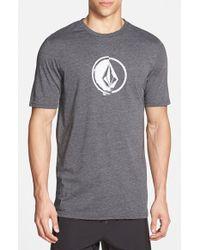 Volcom 'Stacking' Surf Crewneck T-Shirt black - Lyst