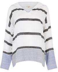 lemlem - Bethany Striped Cotton Blend Top - Lyst
