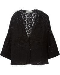 Veronique Leroy - Crochet Effect Jacket - Lyst