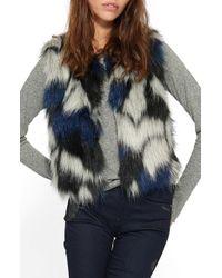 n:PHILANTHROPY - Chantal Faux-Fur Vest - Lyst