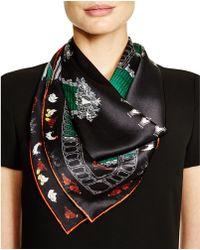 Kinloch - Biscari Print Silk Scarf - Lyst