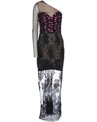 Alessandra Rich | Long Dress | Lyst
