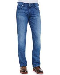 7 For All Mankind Luxe Performance Carsen Nakkitta Jeans - Lyst