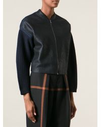3.1 Phillip Lim Cocoon Bomber Jacket - Lyst