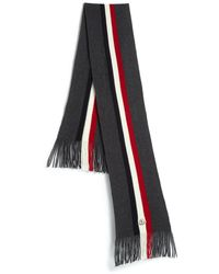 Moncler Striped Wool Scarf - Lyst