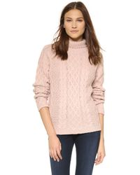 StyleStalker - Immortals Knit Jumper - Blush - Lyst