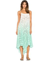 6 Shore Road By Pooja - Southbay Lace Cover Up Dress - Lyst