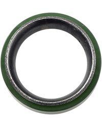 Todd Reed - Men's Green Jade Spinner Ring - Lyst