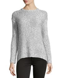 Philosophy Marled Chain-Knit Pullover - Lyst