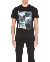Givenchy Amerika Cuban-Fit Cotton-Jersey T-Shirt - For Men - Lyst