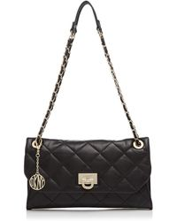 DKNY Clutch - Gansevoort Quilted Envelope Chain Handle - Lyst