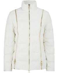 Love Moschino Zip Detailed Down Jacket - Lyst