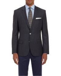 Hugo Boss Plaid Twobutton Hutsons Sportcoat - Lyst