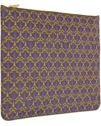 Liberty - Purple Oversized Pouch - Lyst