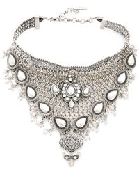 Samantha Wills - World From Here Collar Necklace - Burnished Silver - Lyst