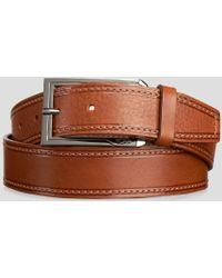 Tumi - Pebble Stitched Reversible Belt - Lyst