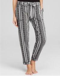 Kensie - Printed Crop Trousers - Lyst