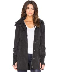 Blanc and Noir - Hooded Anorak Jacket - Lyst