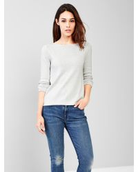 Gap Boatneck A-Line Sweater - Lyst