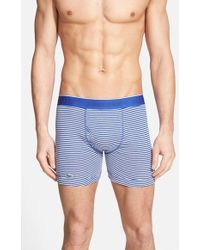 Lacoste Supima Cotton Boxer Briefs - Lyst