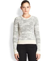Jason Wu Abstract Knit Sweater - Lyst
