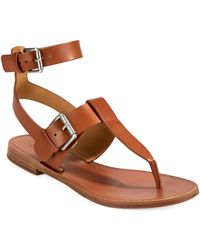 Belle By Sigerson Morrison Reily Thong Sandals - Lyst