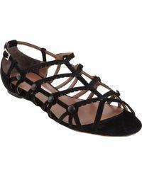 Tabitha Simmons Inez Strappy Flat Sandal - Lyst