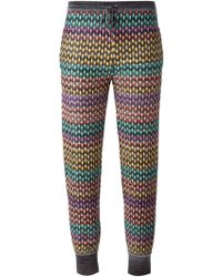 Missoni Knitted Tapered Trousers - Lyst