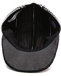 Public School - Leather Cap - Lyst