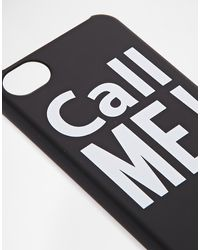 Moschino Call Me Iphone 4 Case - Lyst