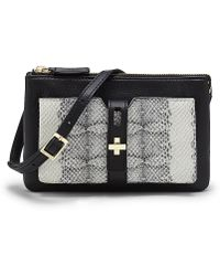 Vince Camuto Darla Small Leather Cross Body - Lyst