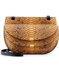 Chloé - Georgia Python Cross-Body Bag - Lyst