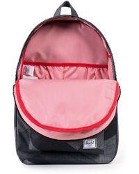 Herschel Supply Co. Black Settlement Printed Backpack - Lyst