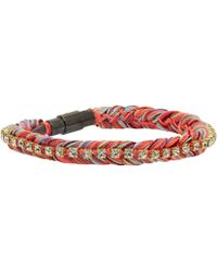 Venessa Arizaga - Indian Red Rainbow Family Bracelet - Lyst