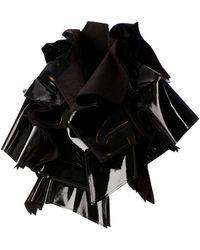 Comme des Garçons Asymmetric Oversized Jacket black - Lyst
