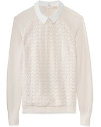 Tory Burch Carmine Sweater - Lyst