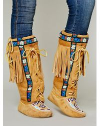 Manitobah - Womens Annie Mckay Moccasin - Lyst
