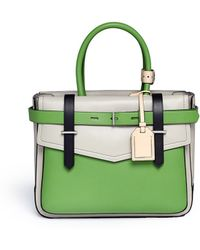 Reed Krakoff Boxer Colourblock Leather Bag - Lyst