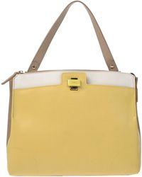 Furla Handbag yellow - Lyst